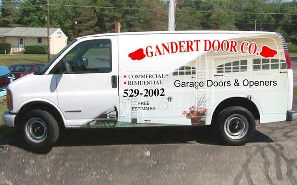 Gandert Garage Door Service Truck